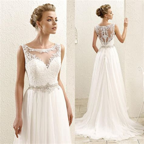 Cheap Stunning White Plus Size Wedding Dresses Long Sleeve