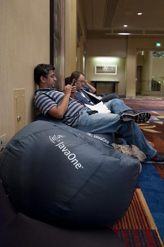 Bean Bags, JavaOne 2011 San Francisco