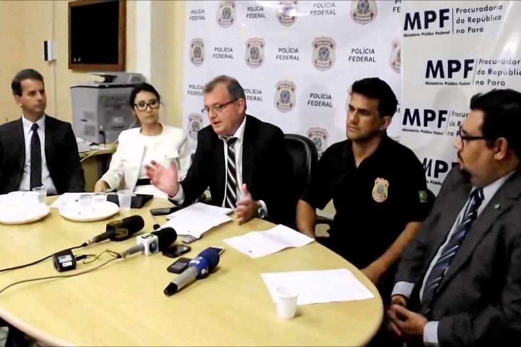 Deflagrada em 2015 pela PF, Operação Madeira Limpa em Santarém desmantelou um esquema de exploração ilegal de assentamentos. Foto: Reprodução/Youtube