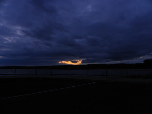 5.8.2010 (142) Sunset over Saganashkee Slought Willow Spirngs