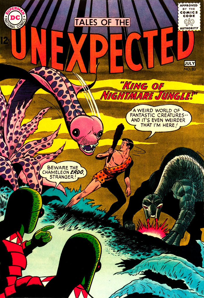 Tales of the Unexpected #83 (DC, 1964) Dick Dillin cover