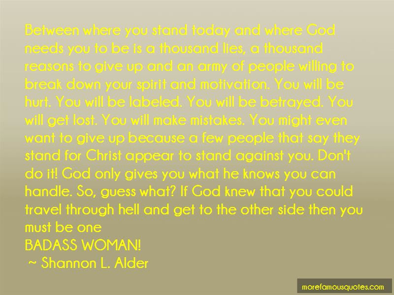Quotes About God Only Gives You What You Can Handle Top 1 God Only