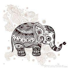 Jonat Simple Elephant Tattoo Designs