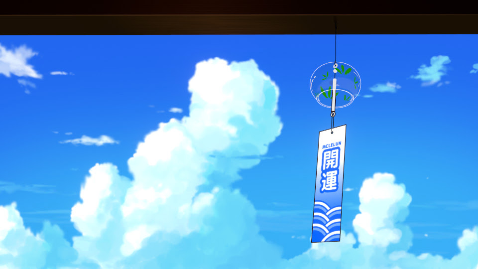 anime wind chime