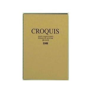 ミューズ クロッキーブック B5 QR‐0455