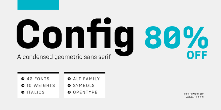 Download Config Font Family From Adam Ladd