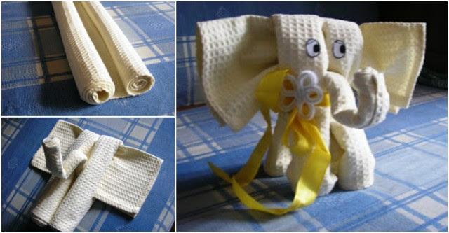 Dumbo Towel Elephant Gift Set