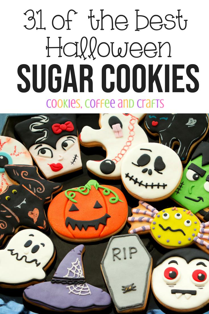 31 of the Best Halloween Sugar Cookies Decorated - Cookies ...