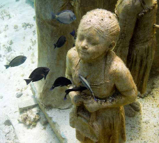 Evolución Silenciosa, Museo Subacuático de Arte, Cancún México