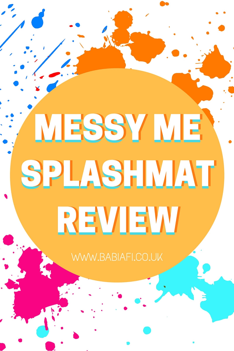 Messy Me Splashmat Review