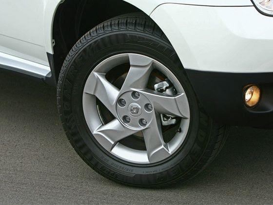 Renault Duster aluminum alloy wheels