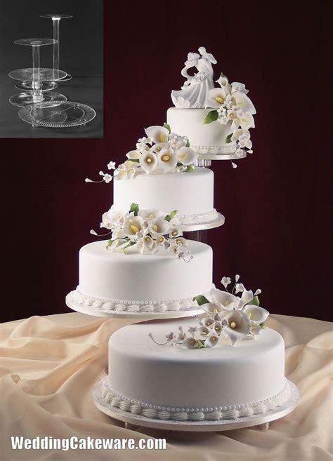 4 tier cascading wedding cake stand stands set   shower