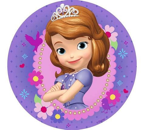 Princess Sofia the First edible cake icing images