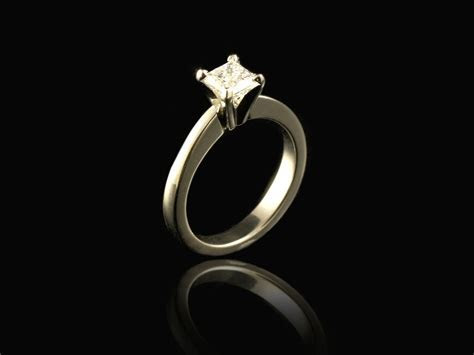 Princess Cut Diamond Engagement Rings Gallery