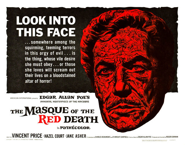 Reynold Brown - The Masque of the Red Death (American International, 1964) half sheet