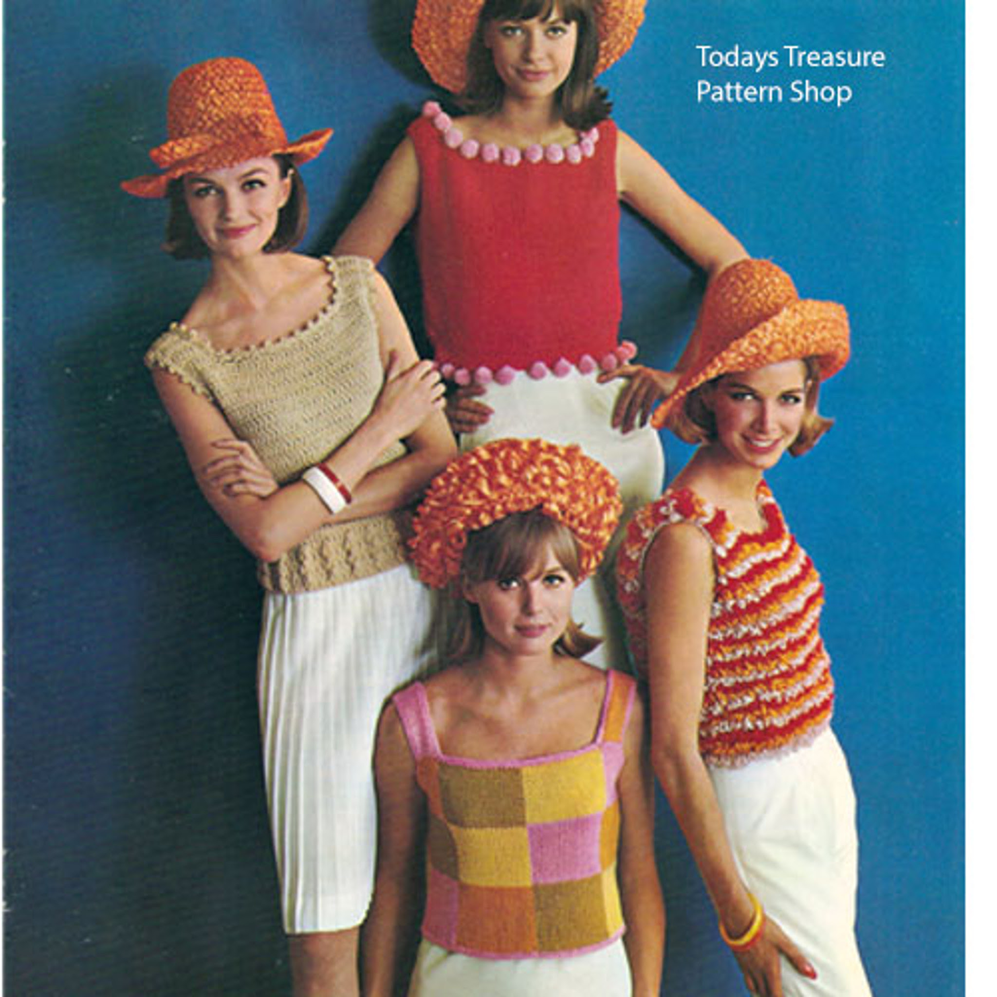 Vintage Shell Crochet Patterns from Columbia Minerva