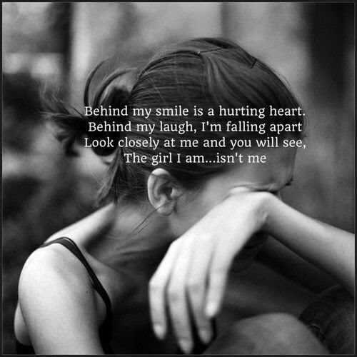 Behind My Smile Is A Hurting Heart Pictures Photos And Images For