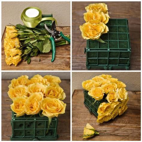 Simple DIY Flowers Wedding Centerpiece Ideas   Sacramento