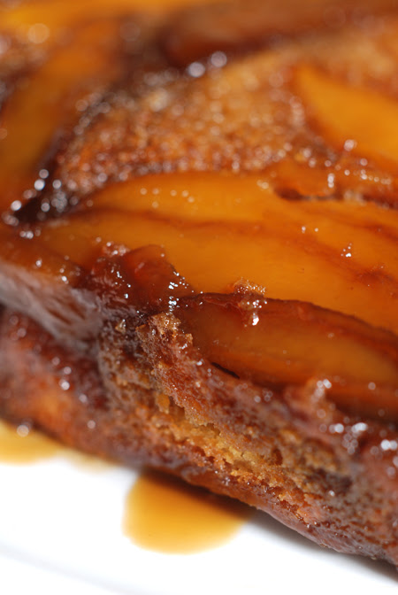 mango upside down cake© by Haalo