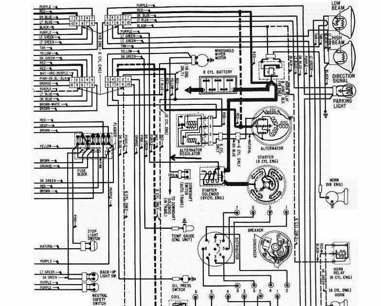 1965 Gto Dash Wiring Diagram