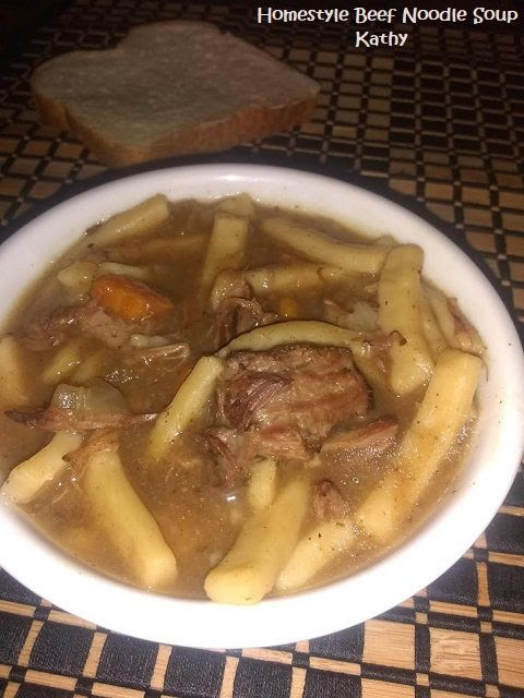 Homestyle Beef Noodl