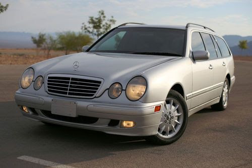 Sell used BEAUTIFUL 2000 MERCEDES BENZ E320 WAGON 3RD SEAT ...