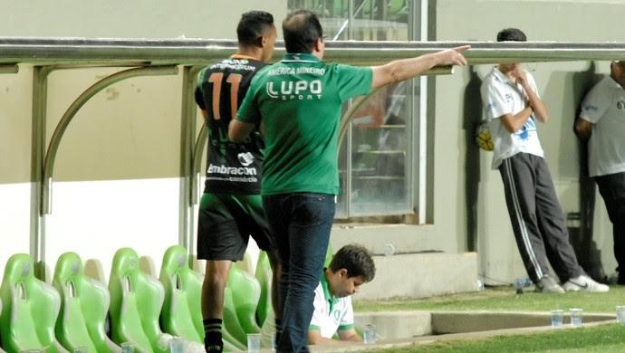 Na opnião de Enderson Moreira, América-MG merecia vitória diante do Sport, no Independência (Foto: Divulgação/AFC)