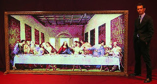 Worlds Largest Things Inc Wl Last Supper Light Bright For Sale