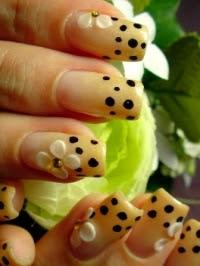 Nail designs at home do not