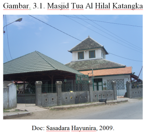 Arkeologi Indonesia Masjid Tua Al Hilal Katangka