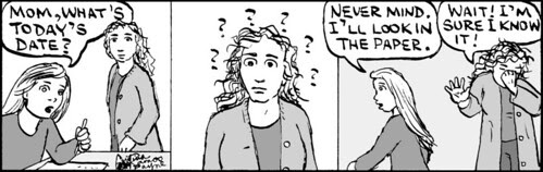 Home Spun comic strip #457