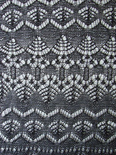 New Lerwick Lace Shawl Border patterns