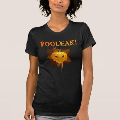 BooLean Cute Pumpkin Shirt for Developers Geeks