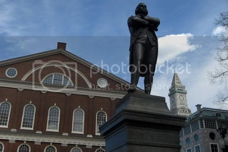 statue of Massachusetts Governor