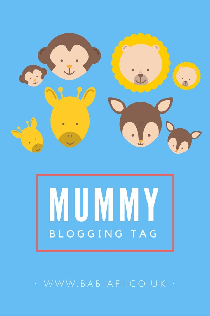 Mummy Blogging Tag