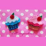 Tutorial in Italiano Come cucire cupcake feltro piatti.