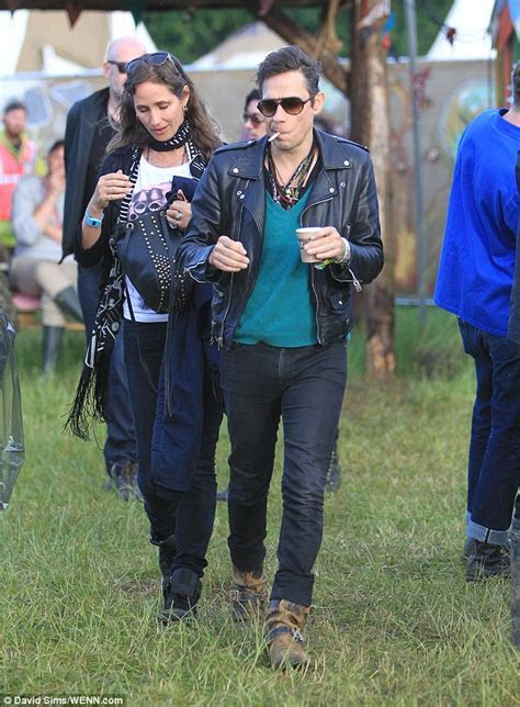 Kate Moss is nowhere to be seen as Jamie Hince parties at
