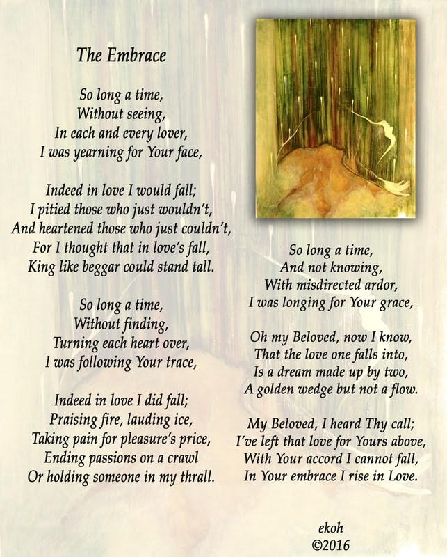 The Embrace Illustrated Poem Home