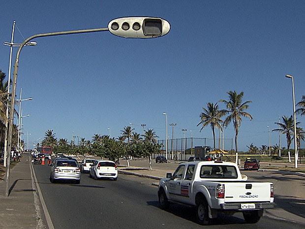 Semáforo (Foto: Imagens/TV Bahia)
