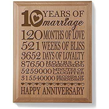 Amazon.com: Kate Posh   Our 10th Anniversary Engraved