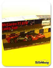 Kit 1/24 Fujimi - McLaren F1 GTR Long Tail - Cola larga Lark - Nº 44 - 24 Horas de Le Mans 1997 - maqueta de plástico