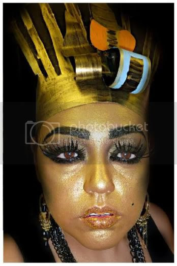 Eyeshadow Tut: RetroSpeckBaby: King Tut Makeup
