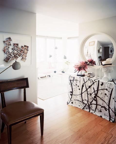 Michelle+Adams+convex+mirror+hung+above+skirted+5odxh9vJGdOl