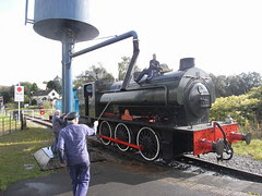 Austerity tank at Heywood