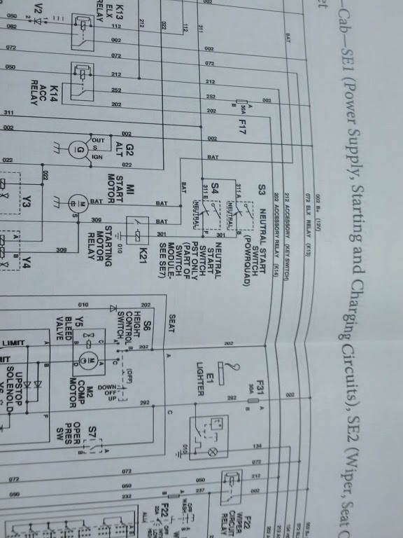 7600 Ford Tractor Electrical Wiring Diagram