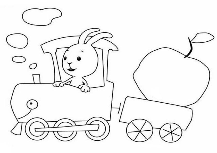 ausmalbilder kostenlos ausdrucken kaninchen