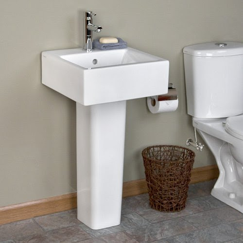 Small Pedestal Sinks Arena Pedestal Sink Single Hole Faucet