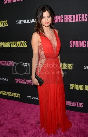 Selena Gomez Red Gown at Spring Breakers Hollywood Premiere photo selena-gomez-reem-acra-spring-breakers-hollywod_zps25a2f290.jpg