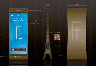 Luxury Sony Ericsson Concept – An Eiffel Tower in Miniature