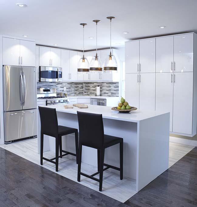 30+ most beautiful white kitchen design ideas 2016
